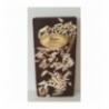 Tablette chocolat noir aux éclats d'amandes et écorces d'orange 100g